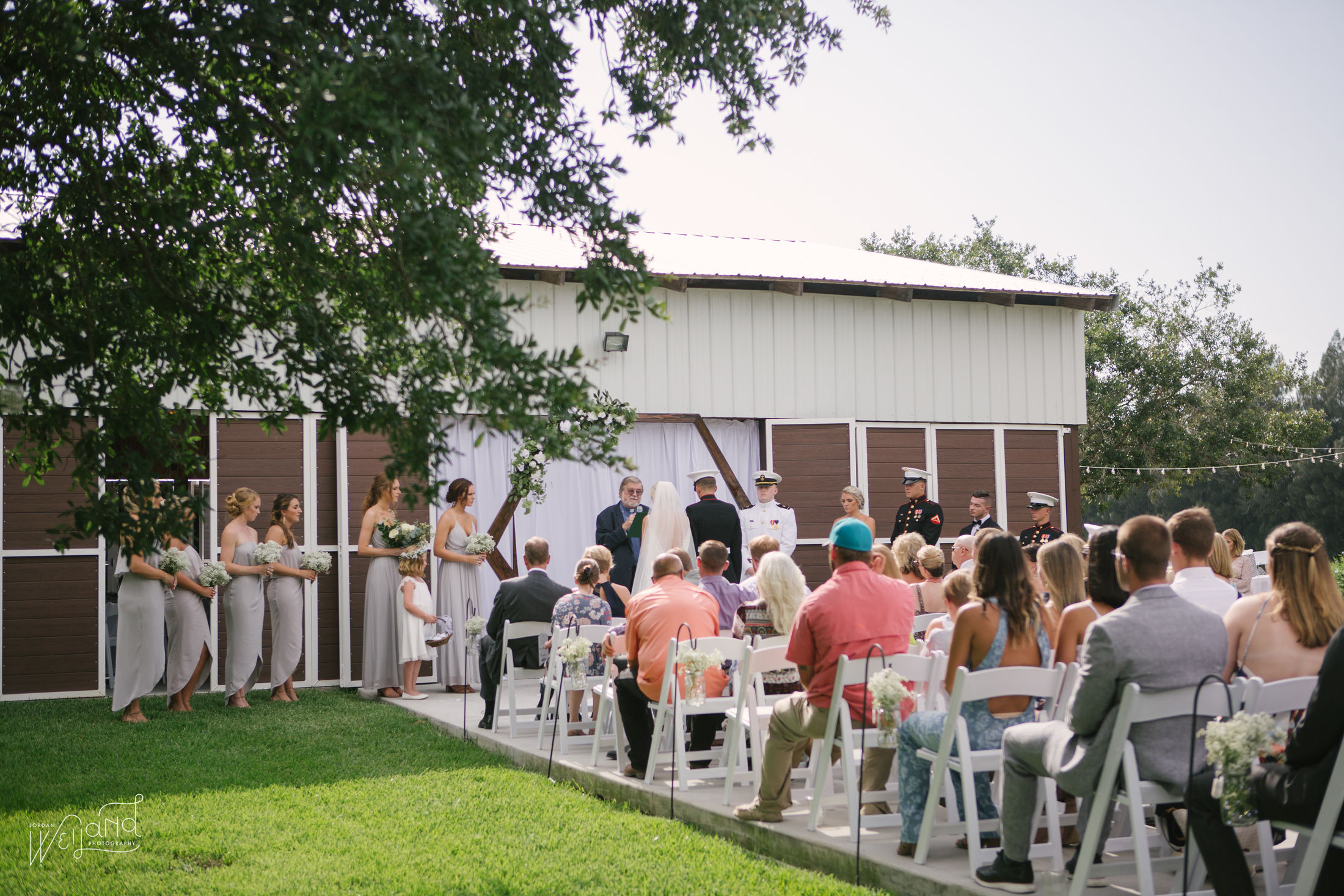 Masters Stables Wedding Barn Outside