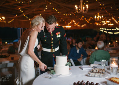 Cutting the Cake in the Pavilion